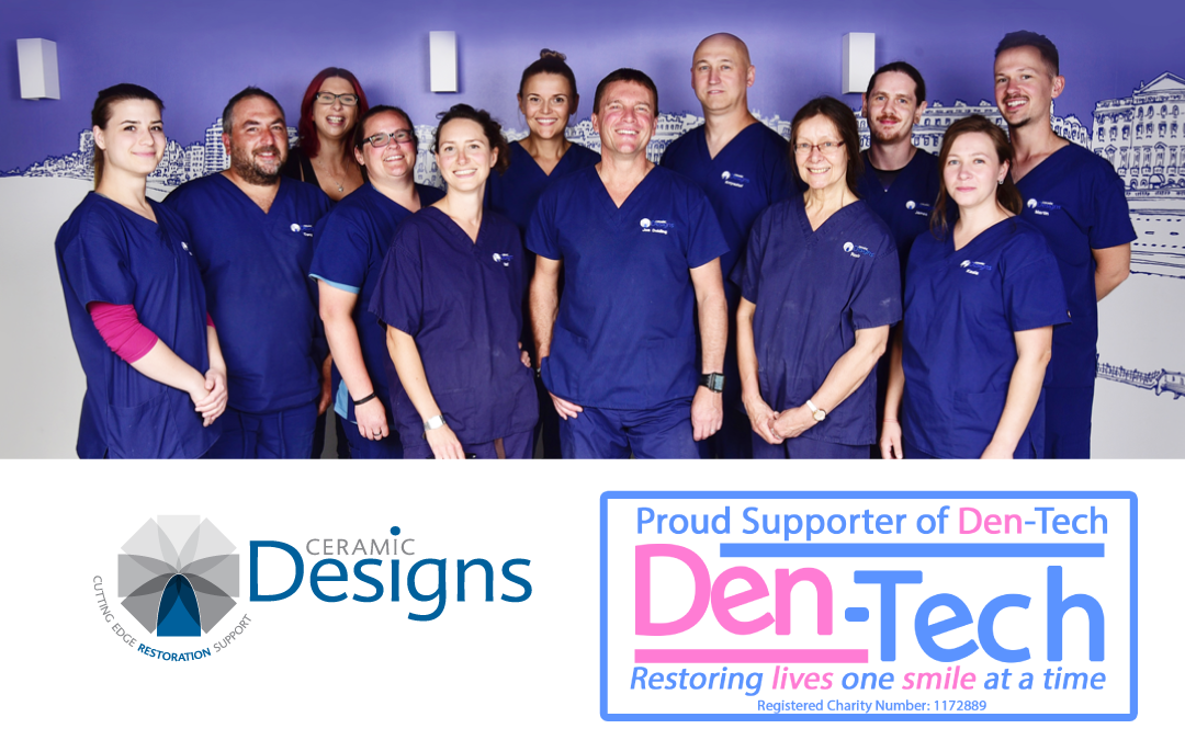 Proud to be collaborating with Den-Tech denture charity