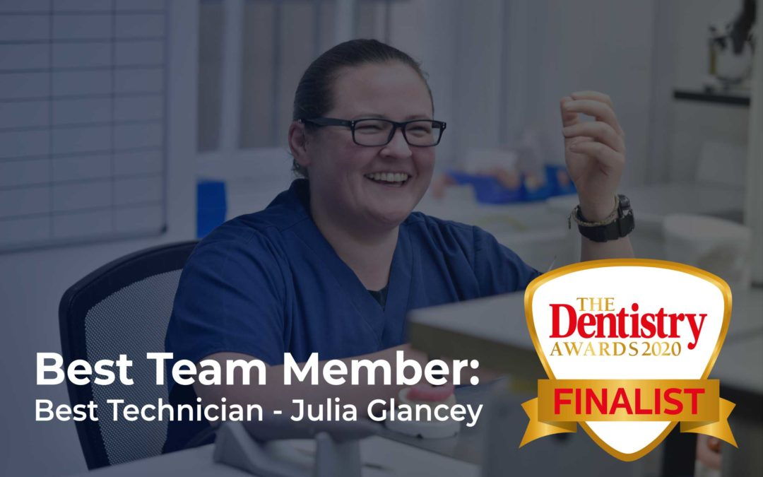 We are finalists in the Dentistry awards 2020!