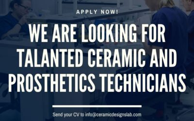 Looking for talented dental Ceramic and Prosthetic Technicians with strong digital skills