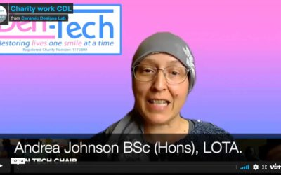 Julia talks about our charity work with Den-tech